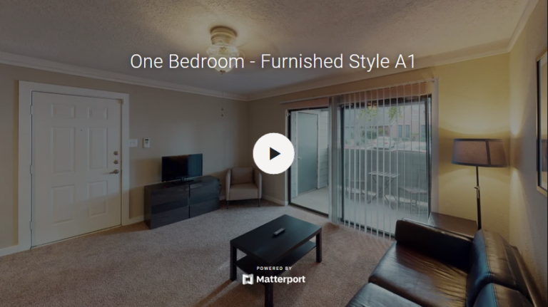 One Bedroom - Furnished Style A1